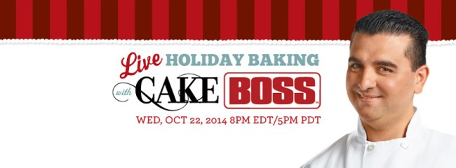 Holiday Baking LIVE with Cake Boss #CakeBossBaking | urbanbakes.com