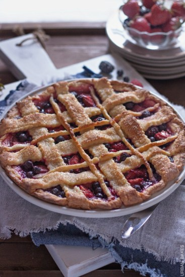 Very Berry Pie | URBAN BAKES