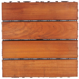 Structural Wood Deck Tiles