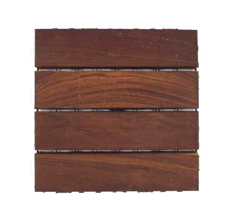 Ipe wood is dark brown in colour. Very dense and strong wood perfect for harsh climates