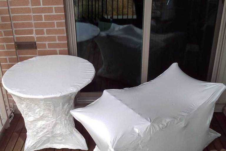 shrink wrapped patio furniture Ontario