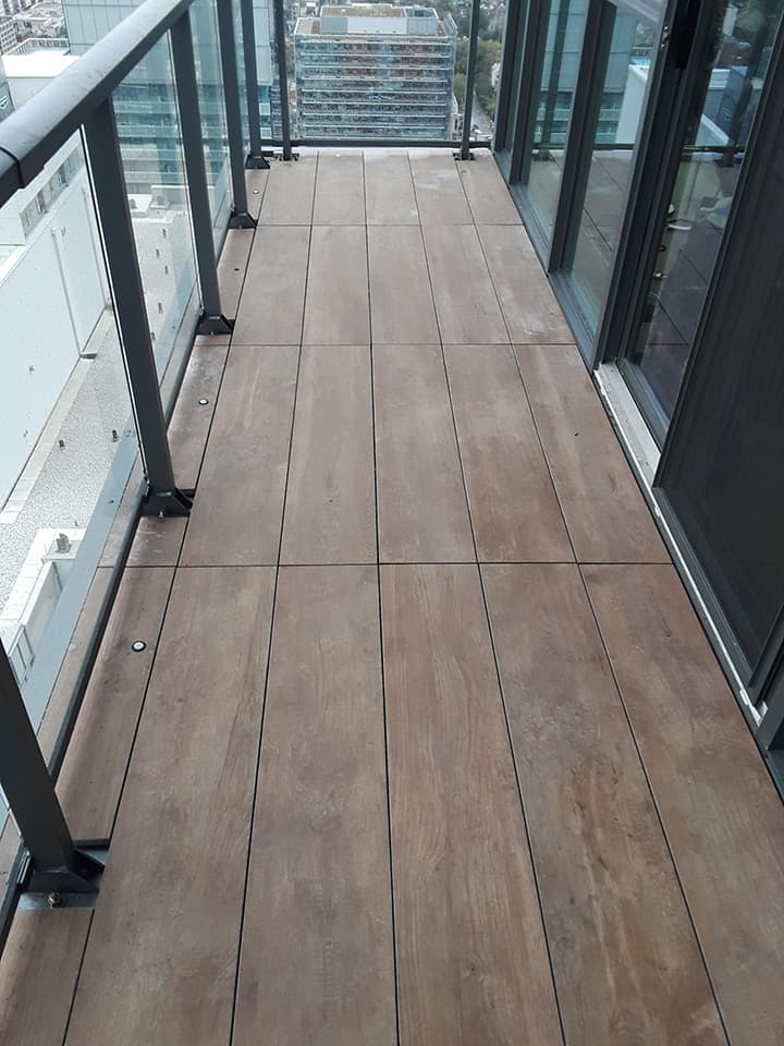 Porcelain Paver Tiles for Outdoor Flooring Installation