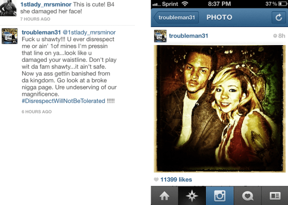 TI Goes Goes Off When ...K Michelle And Toya Beef