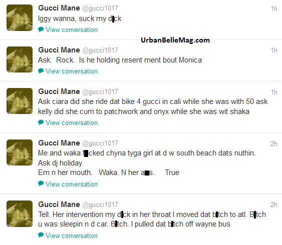 Gucci Mane Twitter Rant: Rapper Goes in on Nicki Minaj ...