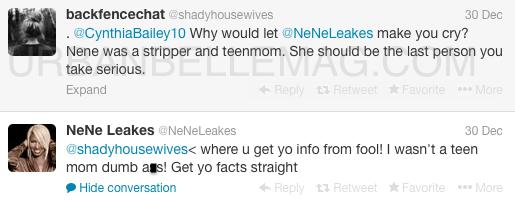 nene leakes twitter