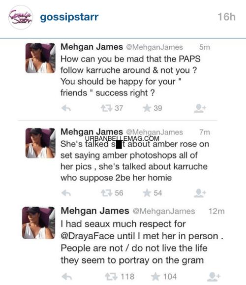 mehgan james twitter