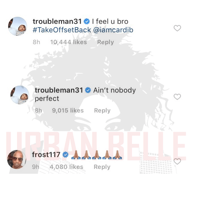 Offset and TI