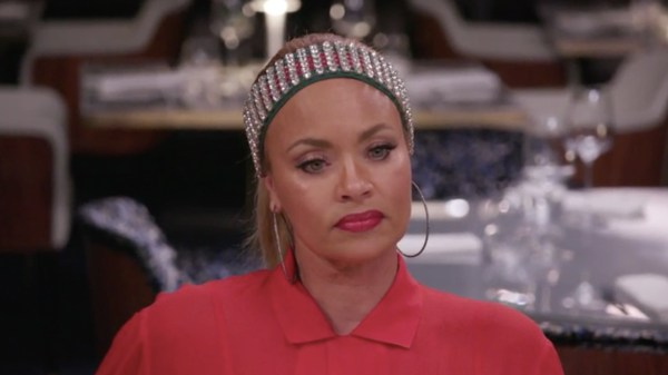gizelle bryant annoyed with robyn dixon