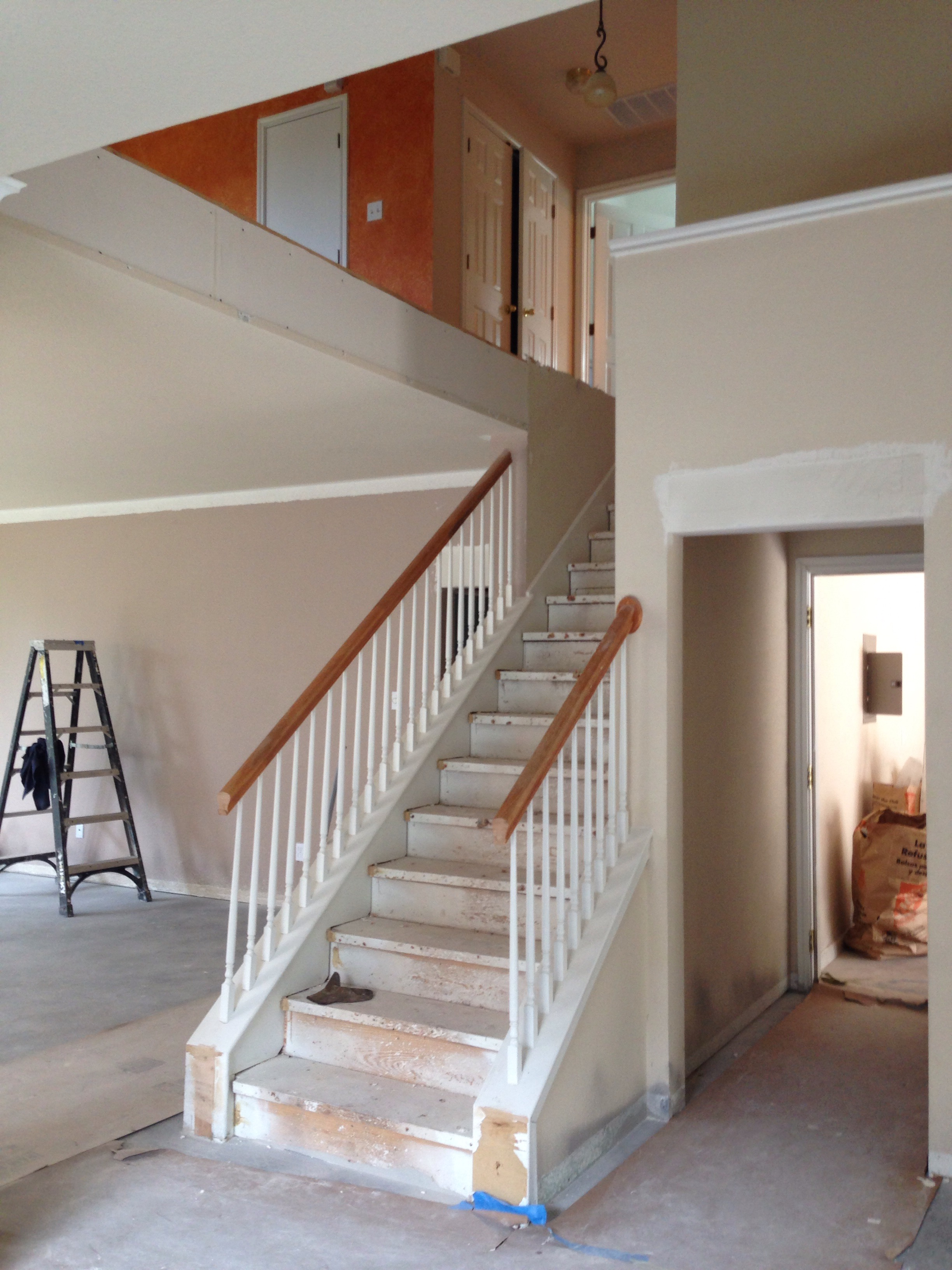 DIY How I Madeover My Stairs Before  After Pictures