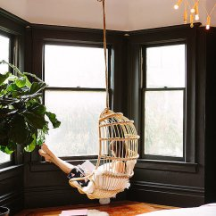 Hanging Chair In Living Room Yoga Certification Uk Get Creative With Indoor Chairs Urban Casa