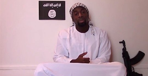The French police confirmed that this is Amedy Coulibaly, one of three men suspected in the deadly terrorist attacks in Paris. (Reuters)