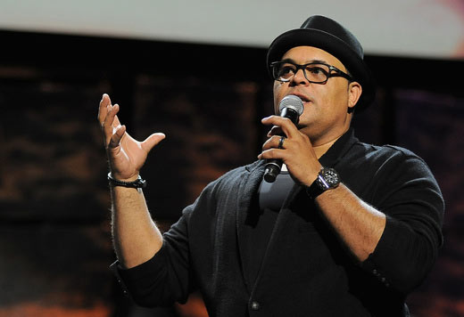 Singer Israel Houghton performs at the 16th Annual Super Bowl Gospel Celebration at ASU Gammage on January 30, 2015 in Tempe, Arizona. (Photo by Marcus Ingram/Getty Images for Super Bowl Gospel)