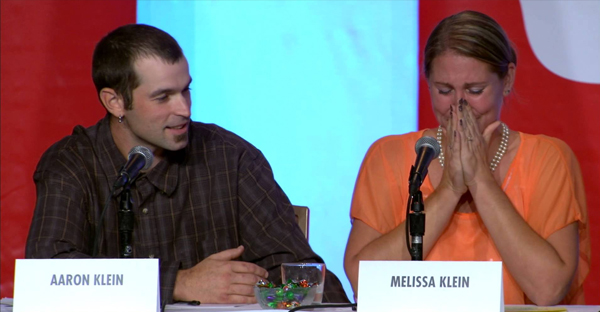 Aaron and Melissa Klein