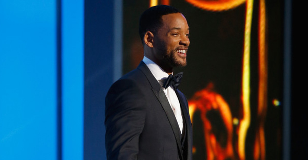 Actor Will Smith onstage during the 46th NAACP Image Awards presented by TV One at Pasadena Civic Auditorium on February 6, 2015 in Pasadena, California. (Joe Scarnici/Getty Images North America)