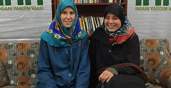 Hana Humpalova and Antonie Chrastecka were released by their unknown kidnappers (PHOTO CREDIT: AFP)