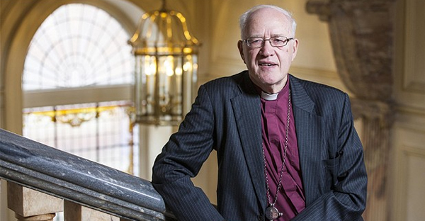 Lord Carey has warned that Christianity is 'a generation away from extinction' in Britain (Andrew Crowley/The Telegraph)