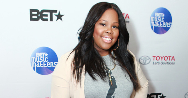 Amber Riley attended the BET Music Matters Grammy Showcase at H.O.M.E. on February 6, 2015 in Beverly Hills, California. (Leon Bennett/Getty Images North America)