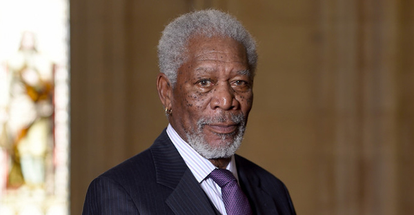 Morgan Freeman receives the Freedom of the City of London at The Guildhall on November 12, 2014 in London, England. (Gareth Cattermole/Getty Images Europe)