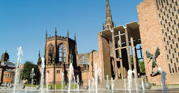 Wounded Planet: Coventry Cathedral, which is hosting an environmental conference.