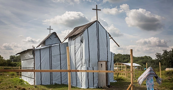 The Ethiopian Orthodox church in Calais. (Rob Stothard/Getty Images)