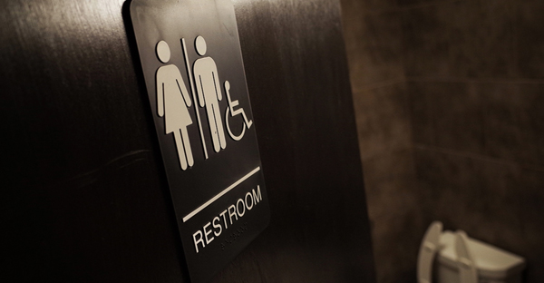 The battle over trans people in bathrooms will show us whether the religious right has any power left. Above, a gender-neutral bathroom at a coffee shop in Washington, D.C. (Mandel Ngan/Getty Images)