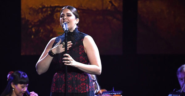 Recording Artist Hillary Scott performs during the 3rd Annual GMA Honors on May 10, 2016 in Nashville, Tennessee. (Photo by Jason Davis/Getty Images for GMA)