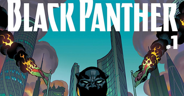 An installment of the Black Panther comic book series written by Ta-Nehisi Coates. (2016 Marvel Entertainment, LLC.)