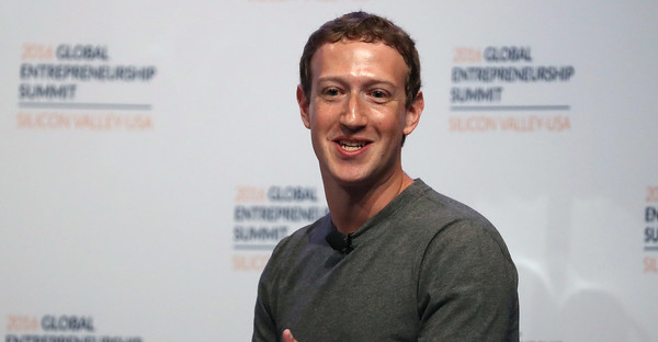 Facebook CEO Mark Zuckerberg speaks on a panel discussion with U.S. President Barack Obama during the 2016 Global Entrepreneurship Summit at Stanford University on June 24, 2016 in Stanford, California. President Obama joined Silicon Valley leaders on the final day of the Global Entrepreneurship Summit. (Justin Sullivan/Getty Images North America)