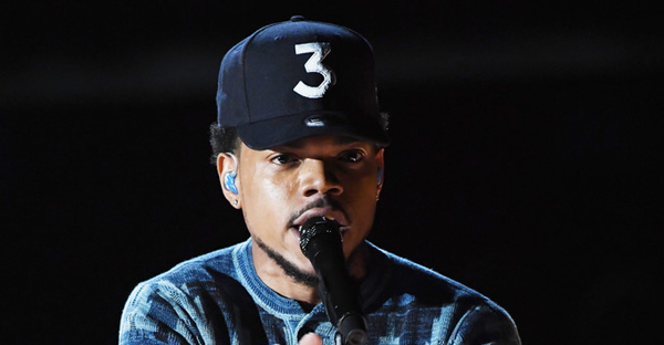 Recording artist Chance the Rapper performs onstage during The 59th GRAMMY Awards at STAPLES Center on February 12, 2017 in Los Angeles, California. (Kevin Winter/Getty Images North America)