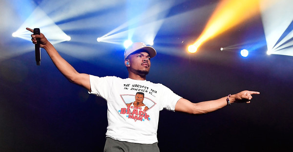 Chance The Rapper performs at the Surf Stage during 2017 Hangout Music Festival on May 21, 2017 in Gulf Shores, Alabama. (Frazer Harrison/Getty Images North America)