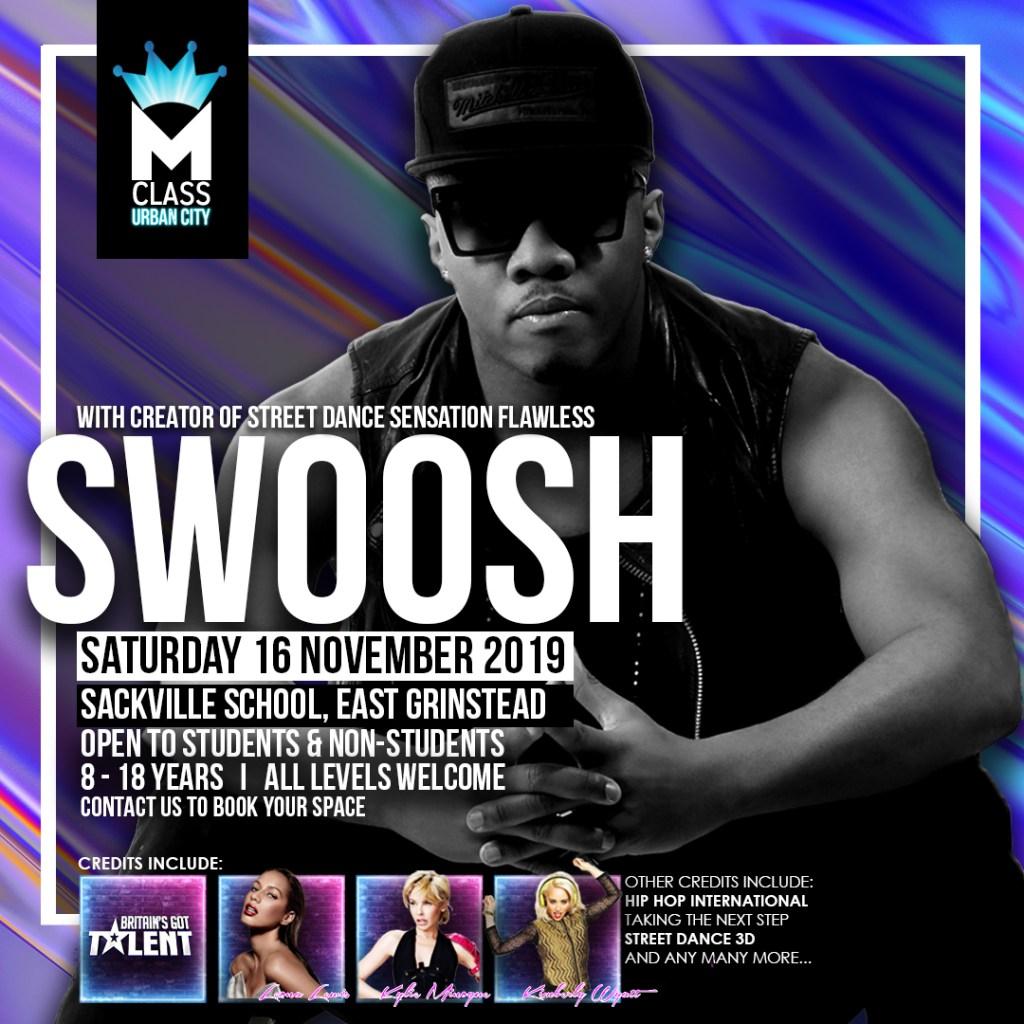 Urban City presents Masterclass with SWOOSH November 2019 - Instagram