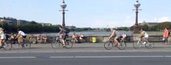 Fietsers in Kopenhagen