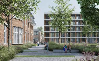 Projectsubsidie stadsvernieuwing voor de Normaalschoolsite in Lier