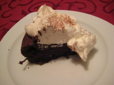 Chocolate Cloud Cake from October 2011