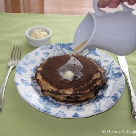 Marlene's Healthful Pancakes |© UrbanCottageLife.com 2011-2016