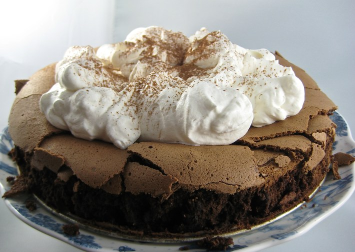 Chocolate Cloud Cake | © Life Through the Kitchen Window.com
