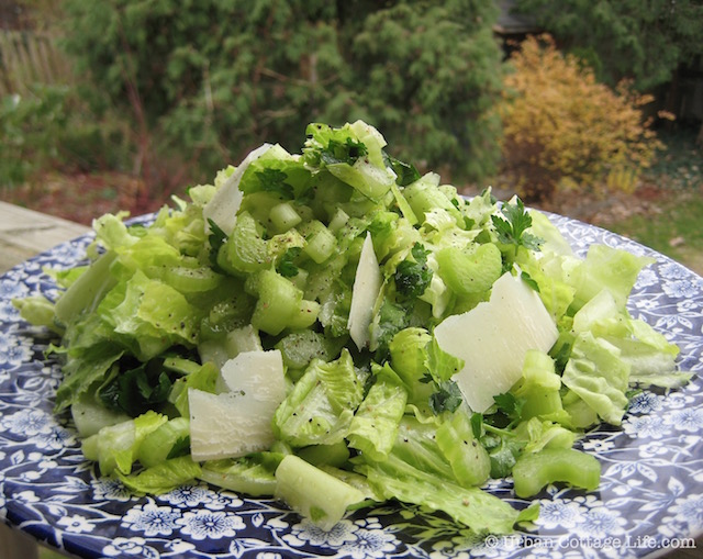 Celery Salad | © UrbanCottageLife.com