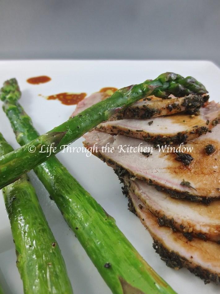 Roast Pork with Thyme & Sage | © Life Through the Kitchen Window
