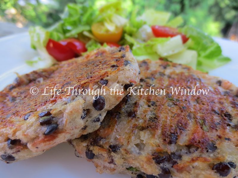 Salmon, Potato & Lentil Cakes⎮ © Life Through the Kitchen Window
