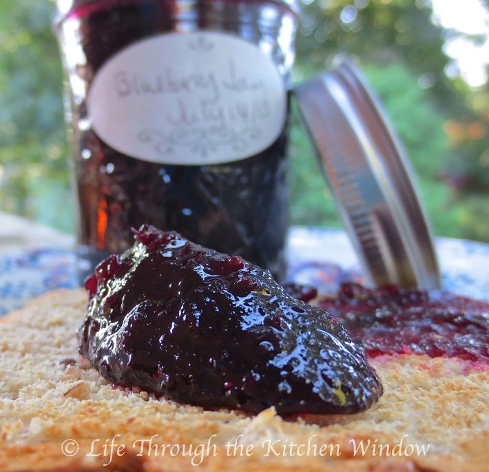 The Simple Pleasures of Homemade Blueberry Jam | © Life Through the Kitchen Window