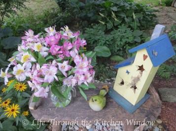 Simple Pleasures: Alstroemeria │ © Life Through the Kitchen Window