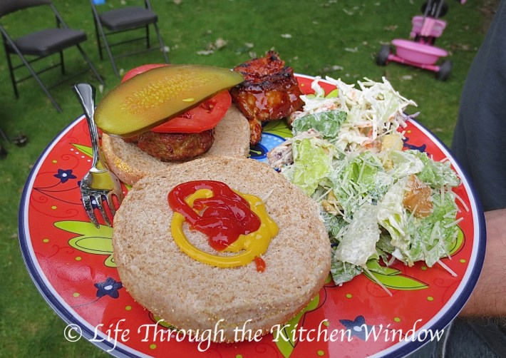 Burgers - A Summer Favourite | © Life Through the Kitchen Window