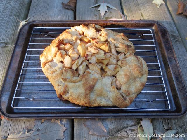 It's Apple Season Apple Crostata with Maple Syrup, Vanilla ...