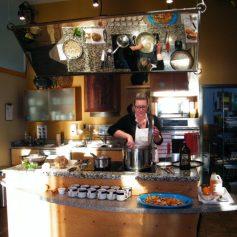 Teaching a Cooking Class | © Life Through the Kitchen Window .com