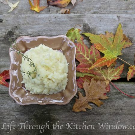 Potato & Turnip Mash | © Life Through the Kitchen Window.com