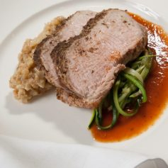 The Meal: Roast Provimi Veal Striploin © Steve Grimes