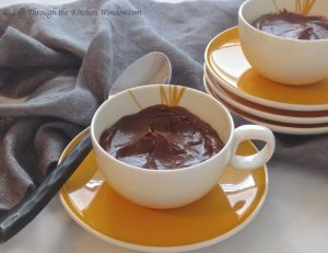 Chocolate Avocado Mousse | © Life Through the Kitchen Window.com