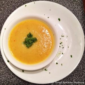 Golden Cauliflower Soup | © Life Through the Kitchen Window.com
