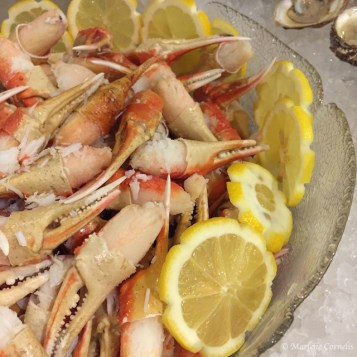 Snow Crab Claws The Meal 2015 | © Marlene Cornelis