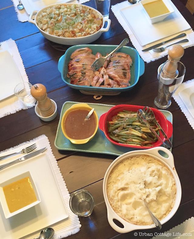 Make Ahead Thanksgiving Dinner   © Urban Cottage Life.com